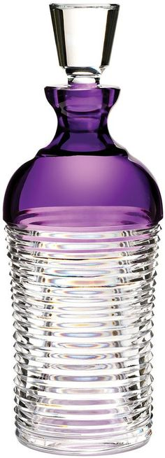 Waterford Waterford mixology circon purple decanter