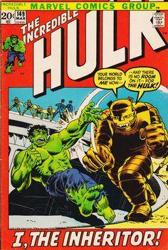 Incredible Hulk # 149 by Herb Trimpe & John Severin Hulk Comic, Marvel Comic Books, Comic Book Heroes, Comic Books Art, Comic Art, Tales To Astonish, Comic Books For Sale, Hq Marvel, Fiction