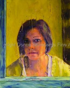 Self Portrait by Donna Brumbergs Fine Artist