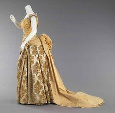 Evening dress, 1888