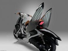 Yamaha 04GEN Design Concept: un scooter orgánico