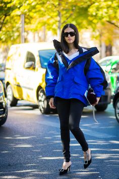Elevate your everyday jeggings with this high-fashion trick. Trust us, it's a game-changer.