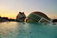 Ciudad de las Artes y las Ciencias (Valencia - Spain)