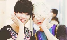 #Jr #Ren #NUEST #Jren #cute #aegyo