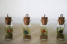 Fish Aquarium Charm by TheSatinOrchid on Etsy, $8.00