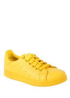 Yellow Tennis Sneaker Tennis Sneakers bb8001743