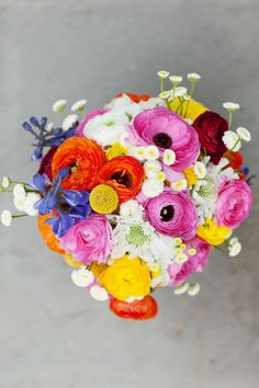 katie's bouquet designed by courtney spencer of merriment events & photographed by jodi miller