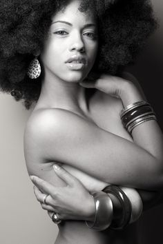Black and White. #naturalhair