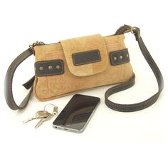 Cork Mini Crossbody/Clutch Bag. Small bag with a big sustainable statement.