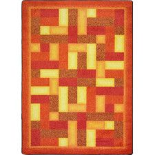 Hand-Tufled Brown Area Rug