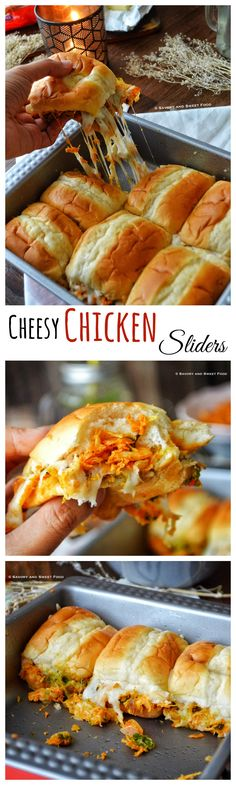 This pull apart cheesy chicken sliders make a perfect food for iftar or a party. A spicy chicken filling along with a flavour filled coriander mint chutney and melted stringy mozzarella cheese packed inside soft buns, are too much fun to eat and so delicious.