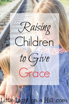 Motherhood is my greatest ministry!  Raising children who give others the same grace Christ has shown them (and me!) is no easy task.