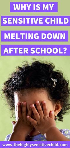 Does your child seem angry or upset after school? If you are experiencing meltdowns and tantrums after school, it may be the result of overstimulation throughout the school day. School can present many challenges to a sensitive child. Gentle Parenting, Parenting Advice, Conscious Parenting, Highly Sensitive, Sensitive People, Sensory Processing Disorder, Anxiety In Children, Adhd Kids, Attachment Parenting