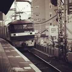 """...Railway stations stand deserted, Rights-of-way lie clear and cold, What we left them, trains inherit, Trains go on, and we grow old..."" ~Thomas Pynchon, Gravity's Rainbow - 5nov14.  Sannomiya Eki. Kobe, Japan. #worldtravel #photography #JAPAN #sannomiya #kobe #pynchon #trains"