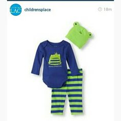 From The Children's Place. Cute oufits for babies.