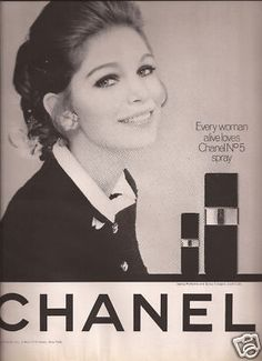 Chanel No 5 Perfume Advertisement 1969