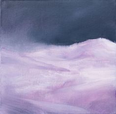 Buy LANDSCAPE - Snowy mountain - small size - oil painting - 20X20 cm, Oil painting by Fabienne Monestier on Artfinder. Discover thousands of other original paintings, prints, sculptures and photography from independent artists.