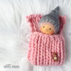 tiny little baby doll by mARTi creates