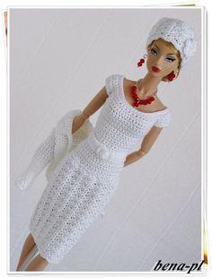 bena-pl Clothes for FR Victoire Roux, Silkstone, Vintage Barbie OOAK outfit   eBay