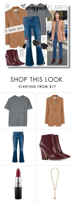 """""""Would You Wear It: Cropped Flares"""" by miee0105 ❤ liked on Polyvore featuring T By Alexander Wang, STELLA McCARTNEY, Chloé, MAC Cosmetics, Christian Dior, women's clothing, women's fashion, women, female and woman"""