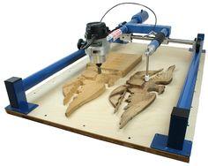 CNC empuje muscular (pantógrafo 3D)