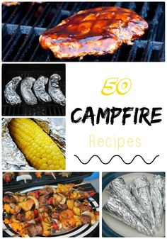 Life With 4 Boys: 50 Breakfast, Lunch, Dinner and Dessert Camping Recipes #Camping