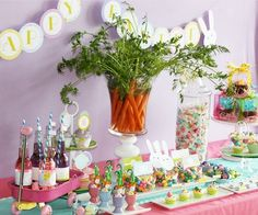 Easter candy bar