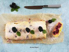 AranyTepsi: Egyszerű szedres szelet Sushi, Muffin, Breakfast, Ethnic Recipes, Cakes, Morning Coffee, Scan Bran Cake, Kuchen, Muffins