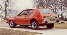 The Gremlin that wouldn't die. It was the only car in the household that would start during Milwaukee's record coldest day, -26 degrees F, Jan. 17, 1982. Even Mom's brand new Mitsubishi Sapporo in the garage would not start. The lil POS Gremlin sitting outside did.