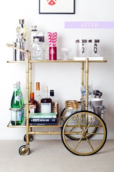 Bar Cart Rehab - The Life Syled