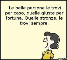 Sarcastic Quotes, Funny Quotes, Snoopy Pictures, Words Quotes, Sayings, Italian Quotes, Vignettes, Thoughts, Life