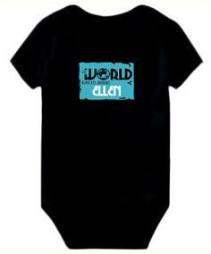 Baby Bodysuit The World Revolves Around Ellen