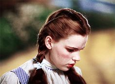 THE WIZARD OF OZ ~ Dorothy Gale (Judy Garland). [Video/GIF]