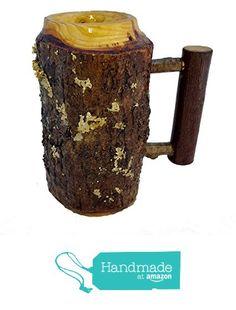 "Lathe Turned ""Bark-On"" Wooden Tankard, Coffee Mug Ash from Kentucky Roots Wood https://www.amazon.com/dp/B018R9QVRG/ref=hnd_sw_r_pi_dp_V6hlzbSDSJFKF #handmadeatamazon"