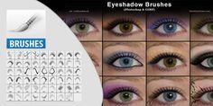 Eyeshadow Photoshop Photoshop Hobby Photoshop Brushes, Eyeshadow, Eye Shadow, Eye Shadows