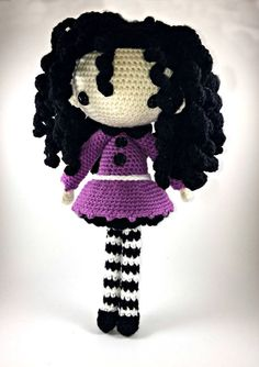 Josefina - Amigurumi Doll Crochet Pattern PDF
