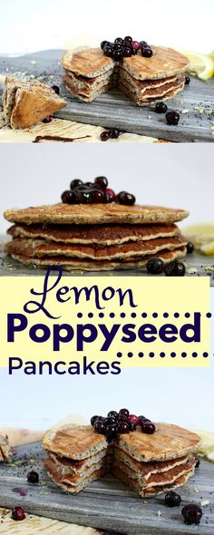 These vegan pancakes are the perfect healthy weekend breakfast option and have the perfect balance of lemons and poppyseeds!
