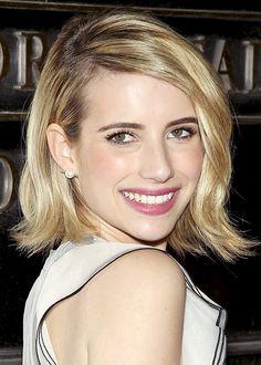 Emma Roberts' pretty summer makeup / Le teint frais d'Emma Roberts