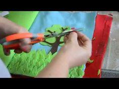 Tutorial libro sensoriale / quiet book - YouTube