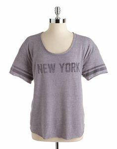 New York Slub Knit Tee