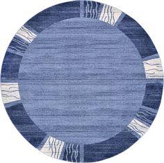 Del Mar Light Blue Area Rug