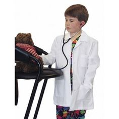 Our Kids lab Coat is the perfect gift for the Future Doctor or Nurse! www.mykidslabcoat.com