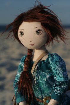 Ksenia – roma wojownicza, handmade doll by romaszop