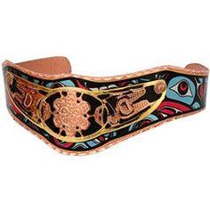 Native Sunface Colourful Cut-out Bracelet