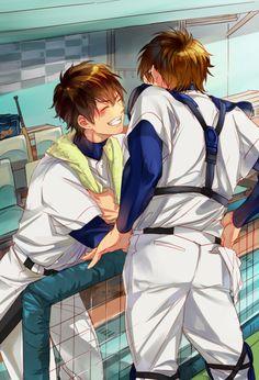 Image about ace of diamond in Anime! Diamond No Ace, Baseball Anime, Miyuki Kazuya, Gekkan Shoujo, Kurotsuki, Anime Ships, Fujoshi, Doujinshi, Anime Love