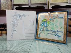 """2 of 2 made by sandie irving """"stamps by me ltd"""" stamps dies and stencils"""