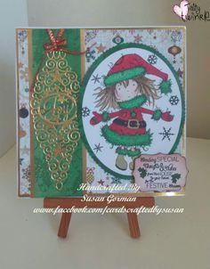 Tattered Twinkle Twinkle, Lace, Christmas, Xmas, Racing, Navidad, Noel, Natal, Kerst