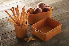Poplar Wood Boxes $7-$14 Rustic