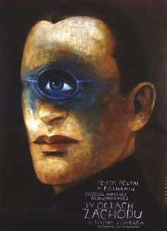 Under Western Eyes, Polish Theater Poster