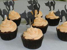 Cupcake de halloween!!!!